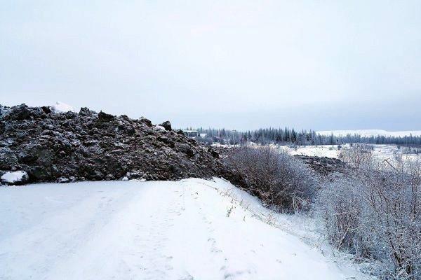 В Якутии сошел алмазный оползень.