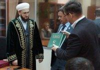 Муфтий Татарстана встретился с президентом Академии наук РТ