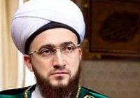 Муфтий РТ провел пятничную проповедь в мечети «Гадель»