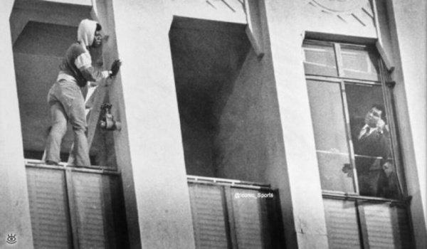 Редчайшие кадры: Мухаммад Али спасает самоубицу