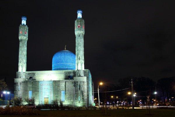 Санкт-Петербург. Голубая мечеть