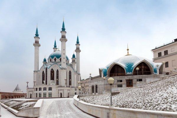 Татарстан, Казань, мечеть Кул Шариф