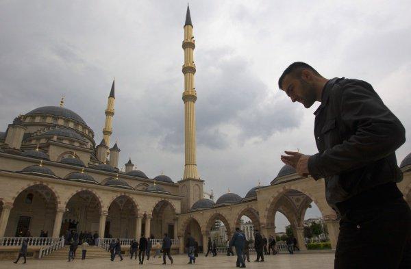 """Чечня, г. Грозный. Мечеть """"Сердце Чечни"""""""