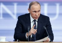 """В. Путин:""""Россия не согласится с тем, чтобы Сирии навязывали, кто будет ей руководить"""""""