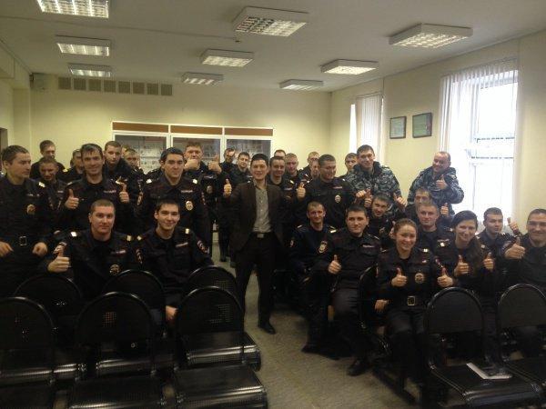 Полицейским Казани рассказали как достичь семейного счастья