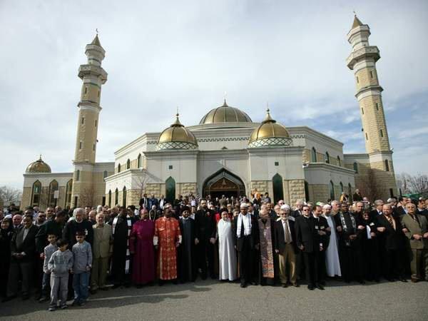 какова ситуация в единственном городе США, где мусульманское население официально преобладает?