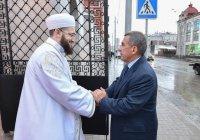 Президент РТ принял участие в открытии Галеевской мечети