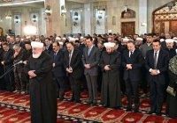 Президент Сирии посетил торжества в честь дня рождения Пророка (мир ему)