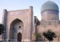 Собери паззл: Соборная мечеть Биби-Ханым