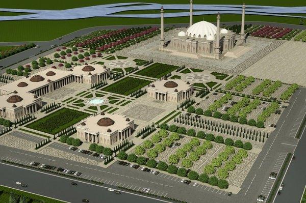 Проект мусульманского центра в Магасе