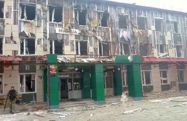 Средняя школа №20 города Грозного.