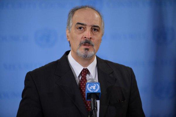 Постпред Сирии при ООН Башар Джаафари.