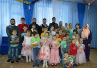 Бугульминские мусульманки из клуба «Нурия» посетили приют
