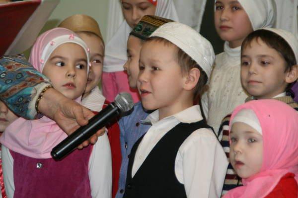 Чистопольские дети отметили праздник Мавлид ан-Наби