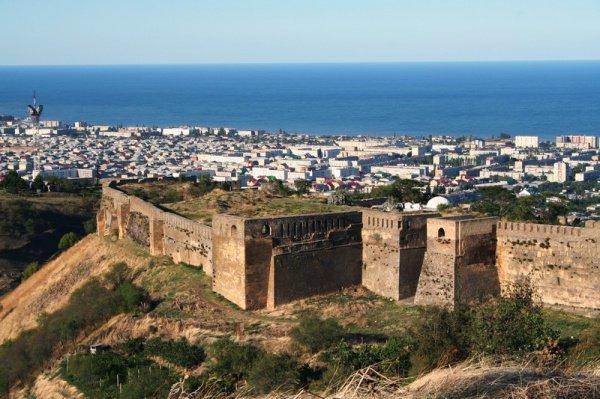 Крепость «Нарын-Кала». Дербент, Дагестан.