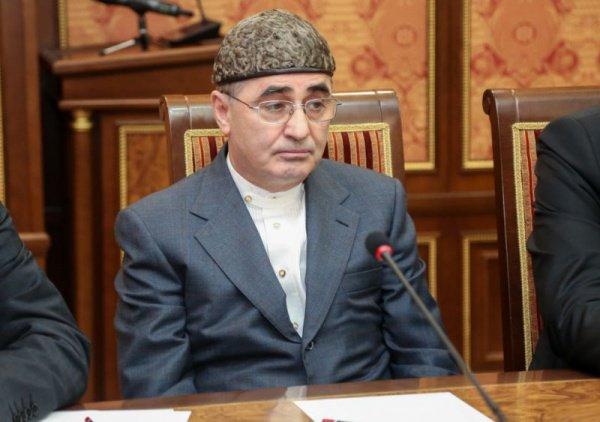 Советник главы Ингушетии по религиозным вопросам Солех Хамхоев.