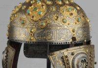 Шлем Александра Невского с надписью из Корана был сделан в столице Золотой Орды