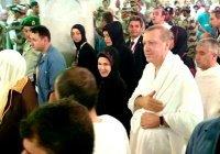 Президент Турции совершил умру в Мекку