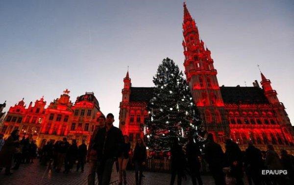 В Брюсселе отменили новогодние празднества.