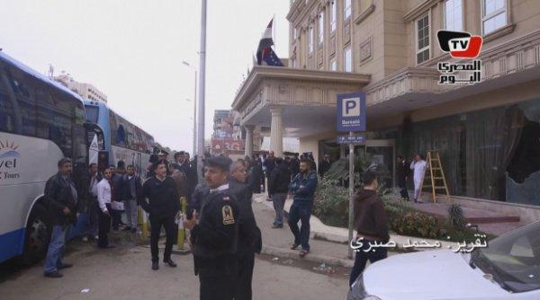 Главной целью террористов был автобус с израильскими туристами
