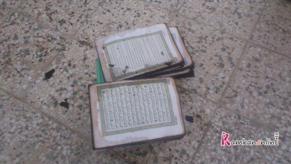 """Случаи чудесного """"спасения"""" Корана происходят по всему миру."""