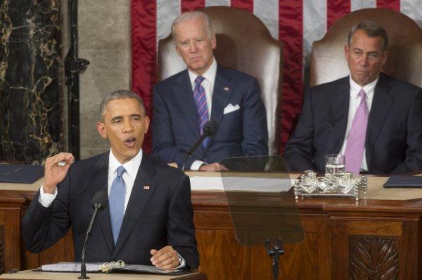 """Доклад """"О положении дел в стране"""" президент США зачитывает ежегодно."""