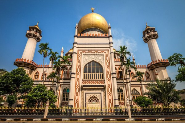 Мечеть Султана, Сингапур.