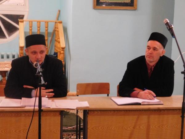 Основной темой выступления имам-хатыйба казанской мечети «Динислам» Инсафа хазрата Ибатуллина стало понятие «Иман».