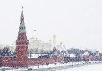 Мощный снегопад порадовал москвичей