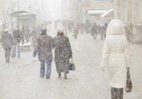 В Казани сохранится снежная погода и метель