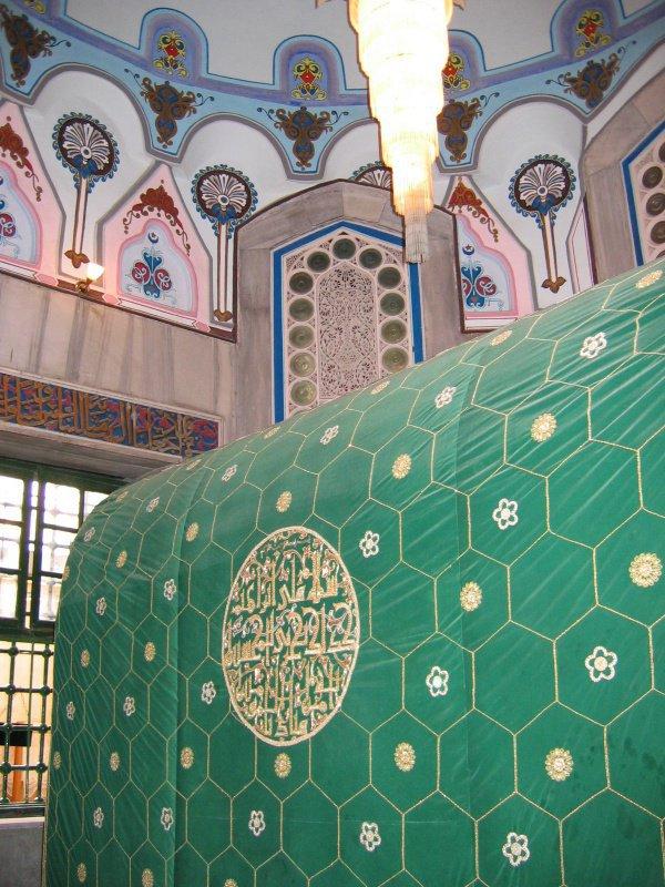 Место захоронения пророка, построившего Каабу и названного
