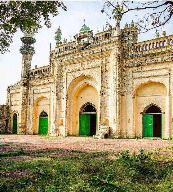 Масжид Райган, Ханпур.