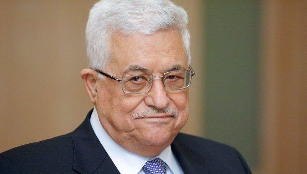 Глава Палестинской национальной администрации Махмуд Аббас.