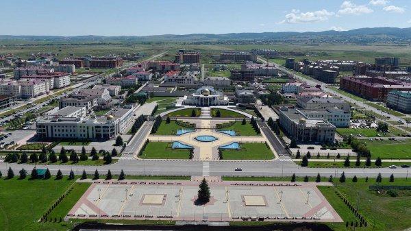 Город Магас активно развивается.