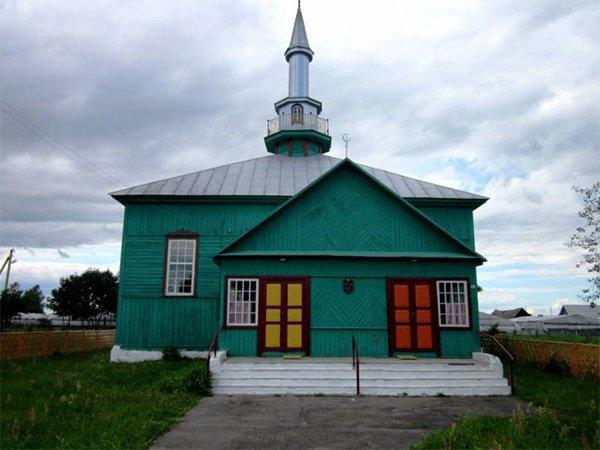 В Ивьевской мечети проводятся мусульманские праздники.
