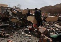 В центральной части Китая произошло мощное землетрясение