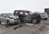 20 машин столкнулись на трассе в Краснодарском крае (ФОТО)
