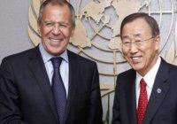 Пан Ги Мун и Лавров обсудили договоренности по ИГИЛ