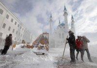 Казань вновь ждет снегопад
