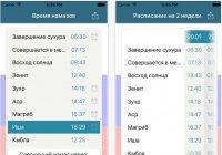"""Обновленное приложение """"Время намаза"""" доступно для скачивания на App Store и Google Play"""