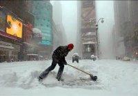 В США жертвами аномального снегопада стали 25 человек