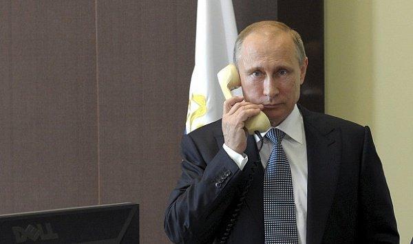 Путин провел телефонные переговоры с президентом Перу.