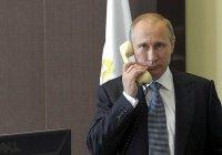 Путин провел телефонные переговоры с президентом Перу