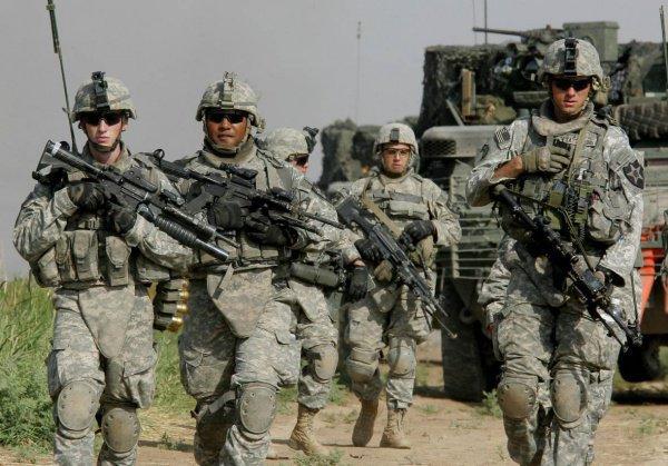 США может перебросить свои войска в Ливию.