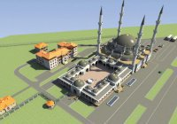 Ростовская компания предложила проект купола Соборной мечети Крыма