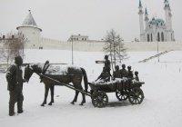 Завтра в Казани незначительно потеплеет