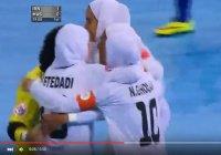 Эффектный гол в исполнении футболисток в хиджабе
