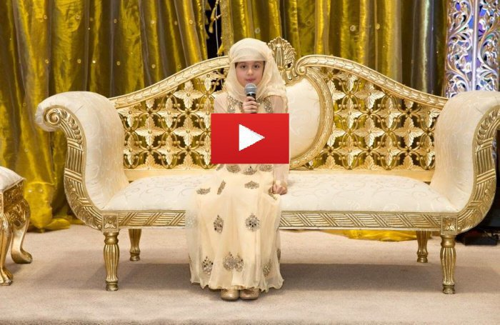 7-летняя британка выучила Коран наизусть всего за 2 года