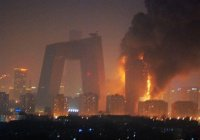 В Китае сгорел многоэтажный отель