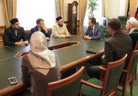 Камиль хазрат Самигуллин встретился с главой Альметьевского района